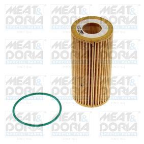 Pērc un aizvieto Eļļas filtrs MEAT & DORIA 14164