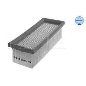 Filtro aria 16-12 321 0012 con un ottimo rapporto MEYLE qualità/prezzo