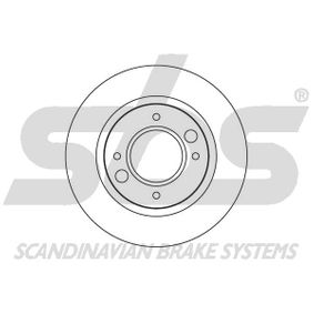 Brake Disc 1815209907 sbs Secure payment — only new parts