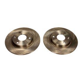Disque de frein 19-0697 MAXGEAR Paiement sécurisé — seulement des pièces neuves