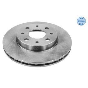 Disco de travão 215 521 0026 MEYLE Pagamento seguro — apenas peças novas