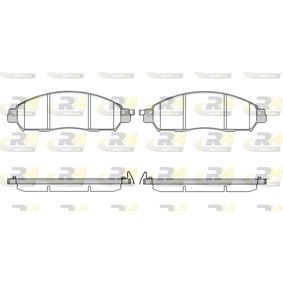 Brake Pads NISSAN Navara Pickup (D23) 2.3 dCi 4x4 (D231