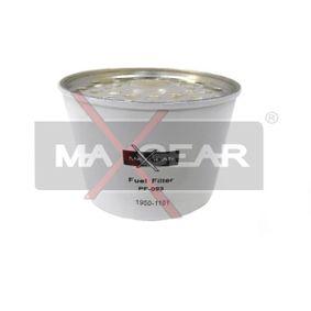 palivovy filtr 26-0139 MAXGEAR Zabezpečená platba – jenom nové autodíly