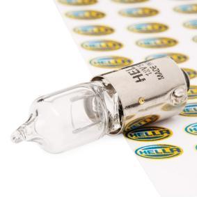 HELLA Glühlampe, Rückfahrleuchte 8GH 002 473-151 Günstig mit Garantie kaufen