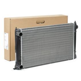 Radiateur, refroidissement du moteur 8MK 376 713-304 à un rapport qualité-prix HELLA exceptionnel