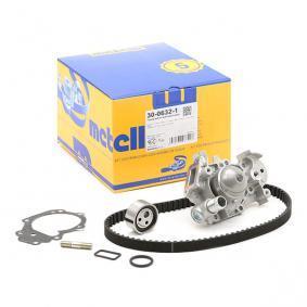 Bomba de agua + kit correa distribución 30-0632-1 METELLI Pago seguro — Solo piezas de recambio nuevas