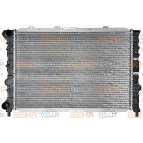 Radiateur, refroidissement du moteur 8MK 376 718-121 HELLA Paiement sécurisé — seulement des pièces neuves