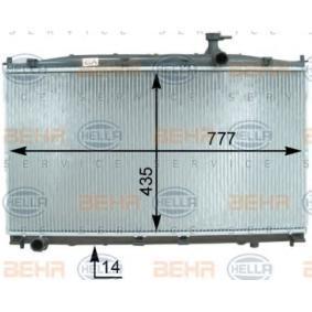 Radiateur, refroidissement du moteur 8MK 376 763-421 HELLA Paiement sécurisé — seulement des pièces neuves