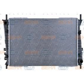 Radiatore, Raffreddamento motore HELLA 8MK 376 764-141 comprare e sostituisci