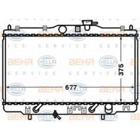 Radiateur, refroidissement du moteur 8MK 376 768-251 HELLA Paiement sécurisé — seulement des pièces neuves