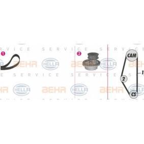 Bomba de agua + kit correa distribución 8MP 376 804-881 HELLA Pago seguro — Solo piezas de recambio nuevas