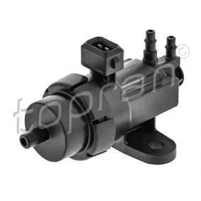 compre TOPRAN Válvula de comutação, borboleta dos gases de escape 304 996 a qualquer hora