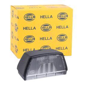 HELLA корпус, светлини на регистрационния номер 9BG 121 587-031 купете онлайн денонощно