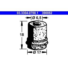 ATE пробка, резервоар за спирачна течност 03.3304-0700.1 купете онлайн денонощно