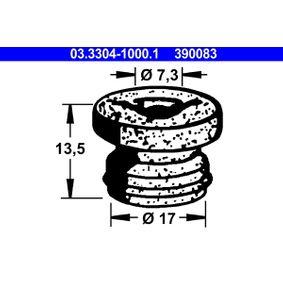 ATE Tapón, depósito líquido de frenos 03.3304-1000.1 24 horas al día comprar online