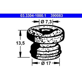 koop ATE Plug, remvloeistofreservoir 03.3304-1000.1 op elk moment