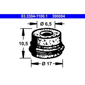 koop ATE Plug, remvloeistofreservoir 03.3304-1100.1 op elk moment