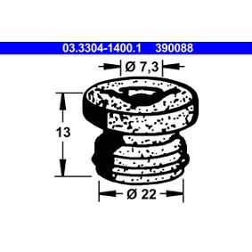 ATE пробка, резервоар за спирачна течност 03.3304-1400.1 купете онлайн денонощно