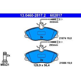 Brake Pad Set, disc brake 13.0460-2817.2 406 Estate 2.1 TD 12V 109 HP original parts-Offers