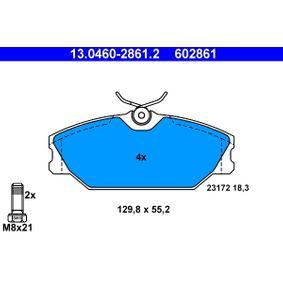 Bremžu uzliku kompl., Disku bremzes ATE 13.0460-2861.2 ar atlaidi — pērc tagad!