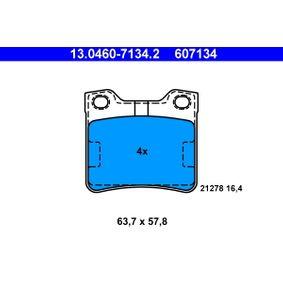 Brake Pad Set, disc brake 13.0460-7134.2 406 Estate 2.1 TD 12V 109 HP original parts-Offers