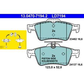 Jarrupala, levyjarru 13.0470-7194.2 Vectra C GTS Hatchback 2.2 direct (F68) 155 HV alkuperäisosat-Tarjoukset