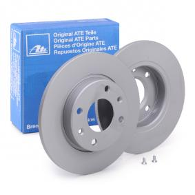 Disco de travão 24.0110-0187.1 ATE Pagamento seguro — apenas peças novas