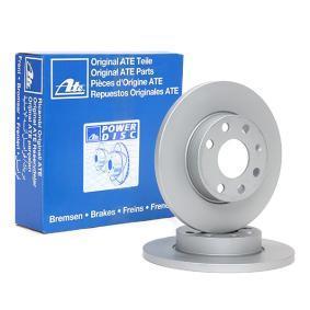 Disco freno 24.0113-0161.1 con un ottimo rapporto ATE qualità/prezzo