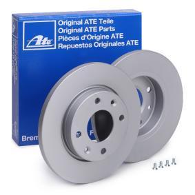 Disco freno ATE 24.0113-0185.1 comprare e sostituisci