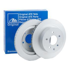 Disco freno ATE 24.0116-0119.1 comprare e sostituisci