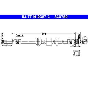 Flessibile del freno 83.7716-0397.3 con un ottimo rapporto ATE qualità/prezzo