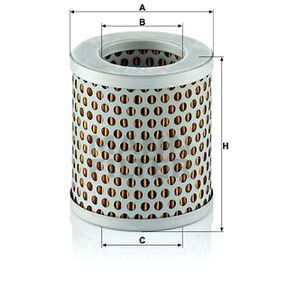 Buy MANN-FILTER Air Filter C 75/4