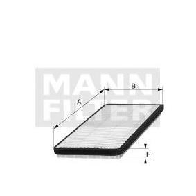 Köp MANN-FILTER Filter, kupéventilation CU 2136