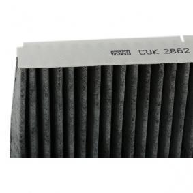 CUK2862 Filtro, ar do habitáculo adsotop MANN-FILTER Enorme selecção - fortemente reduzidos