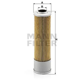 Commandez maintenant H 614/3 MANN-FILTER Filtre, système hydraulique de travail
