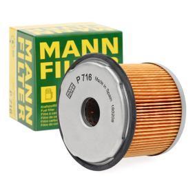 Kupte a vyměňte palivovy filtr MANN-FILTER P 716