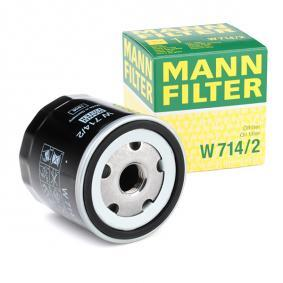 buy and replace Oil Filter MANN-FILTER W 714/2