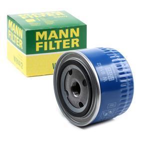 Filtro de óleo W 914/2 com uma excecional MANN-FILTER relação preço-desempenho
