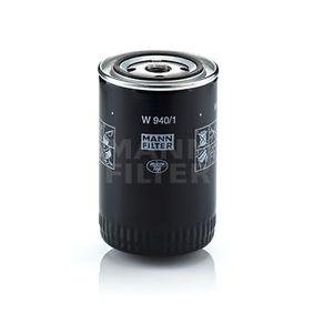 Compre e substitua Filtro de óleo MANN-FILTER W 940/1