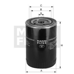 MANN-FILTER филтър за охладителната течност WA 940/18 купете онлайн денонощно