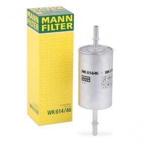 palivovy filtr WK 614/46 s vynikajícím poměrem mezi cenou a MANN-FILTER kvalitou