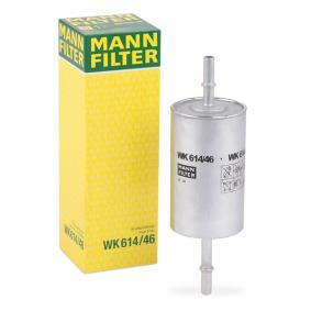 buy and replace Fuel filter MANN-FILTER WK 614/46