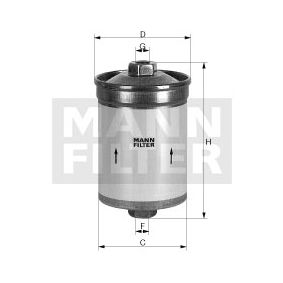 Fuel filter WK 618 for VOLVO 260 at a discount — buy now!
