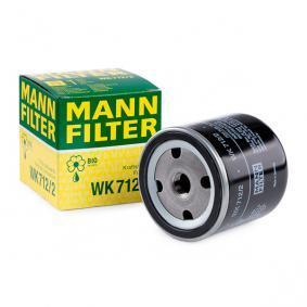 palivovy filtr WK 712/2 MANN-FILTER Zabezpečená platba – jenom nové autodíly