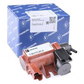 PIERBURG Transductor de presión, control de gases de escape 7.01771.01.0 24 horas al día comprar online