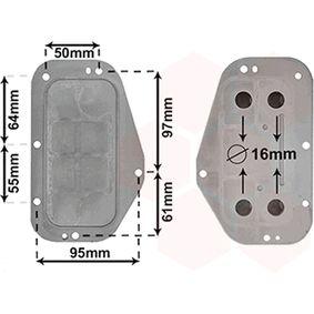 VAN WEZEL маслен радиатор, двигателно масло 37013702 купете онлайн денонощно