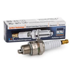 Candela accensione 0002435701 con un ottimo rapporto BERU qualità/prezzo