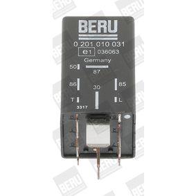acheter BERU Appareil de commande, temps de préchauffage GR031 à tout moment