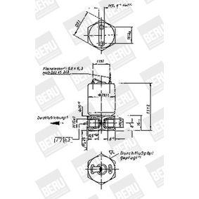 BERU Valvola, Imp. avviamento a fiamma 0210142115 acquista online 24/7