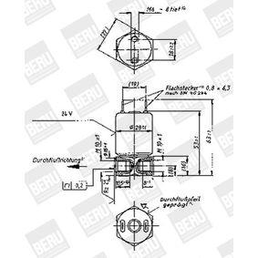 BERU Valvola, Imp. avviamento a fiamma 0210243111 acquista online 24/7